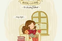 Thing that only booklovers will understand / illustration, booklovers, books
