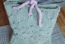 Yarn pieces