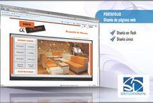 Diseño de Paginas web / Nuestro portafolio de diseño de paginas web desde inicios de nuestra actividad