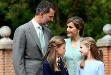 Comunión de Su Alteza Real la infanta Sofía
