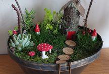 Fairy Gardens / I'll make one for Ella eventually!!