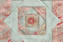 Patchwork med firkanter