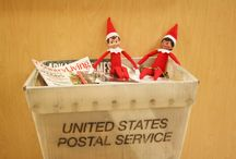 Adventures of Frank and Pearl / Frank and Pearl have stopped by the library to keep an eye on our Staff and Patrons during the holidays. Each day Frank and Pearl are learning what our library has to offer.