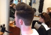 Men's hair created by A'Courts