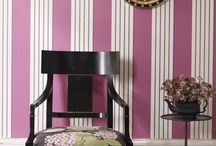 Rooms with stripes
