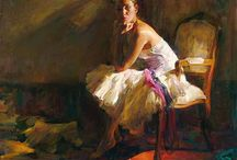 MICHAEL & INESSA GARMASH / Mr. and Mrs. Garmash are considered two of the finest Romantic Impressionists of our day. Their incredible talent is only matched by their love and career stories. In similar fashion to the determination of his artwork, Mr. Garmash courted his future wife, after seeing her for but a moment, by painting her image all over her hometown while she slept. She immediately recognized the passion with which this man cared so dearly and married him shortly thereafter.