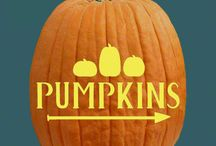 Harvest Home Pumpkin Carving Patterns / Crackling golden leaves, fields of orange pumpkins, the aroma of cinnamon filling the air…Autumn has a magic all its own!