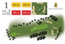 Percorso: le Buche / Informazioni sulle buche del percorso golfistico al Golf Club Lecco