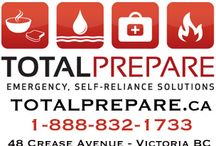 TOTAL PREPARE / Canada's #1 Source for GLUTEN-FREE Emergency Preparedness, Self-Reliance and Longterm Storage