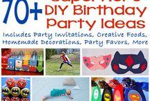Birthday Party Superhero