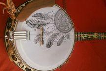 Moje banjo / zdobení a zvuk