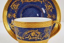cups with gold and ornament
