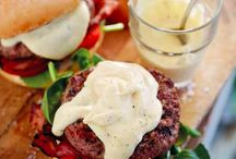 Recipes Burgers and Sliders