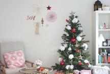 クリスマス 飾り付け& 手作り- 部屋