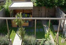 Pergola en/of dakplantaan achtertuin