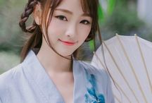 east asian traditional clothes