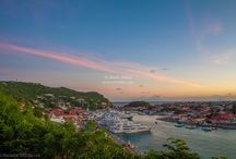 Sunset in Gustavia / by St. Barths Online