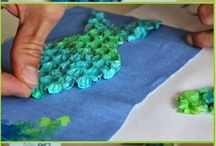 Painting on fabric/Malowanie na tkaninach / painting on fabric malowanie na tkaninach