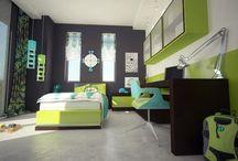 Teenage boy room ideas / Teenage boys need their awesome rooms:)