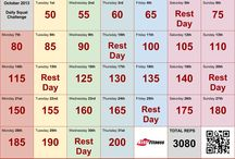 Fitness Challenges & Workouts