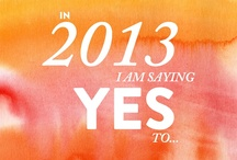 Making Things Happen in 2013 (project) / by Dallas Curow