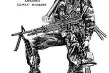 Army stuff / by Gary Pickney