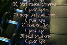 Dumbbell/Barbell Workouts