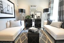 Small Spaces / Cozy, cute, smart and chic. Efficient use of space to appease my inner claustrophile / by Lea Also