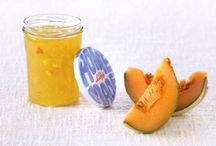 Confitures fruits jaunes