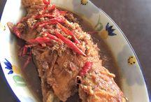 Belinyu, Bangka / Mom's Cuisine, Food, Beach