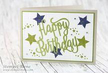DIY Cards - Happy Birthday Thinlits