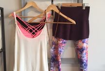 Yoga Style / We love clothes that do double duty and take you from the mat and through your day!