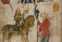 Medieval Stories Illustrations