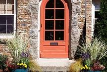Front door ideas / by Colleen McElroy
