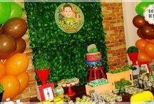 AsTartarugas ninjas / Decoração de festa infantil As Tartarugas Ninjas