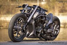 Custom Motorcycles / by Nicholas Dean