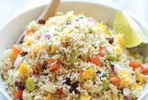 quinoa / by Rebecca MacKeigan