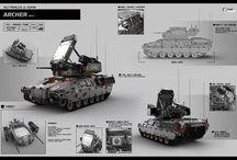 [Des] Armored Vehicles / Design Inspirations