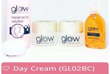 glow beauty care product