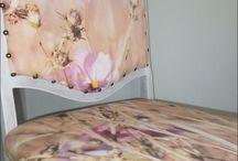 Custom printed fabric / Custom printed upholstery fabric using my photographs / by Dori Moreno