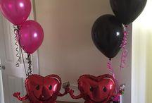 Up Up 'N Away Photos / Balloons created