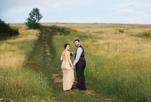 Dreamy Mountaintop Elopement / What a gorgeous and dreamlike elopement in the mountains of Asheville, NC.  Beautiful flowers by Flora Asheville and tasty and pretty pies by Whisk AVL.  Photography by Meghan Rolfe Photography. Wedding put together by Asheville Outdoor Elopements! www.ashevilleoutdoorelopements.com