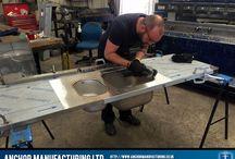 Stainless Steel Kitchen Sink Fabrication