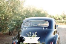 Déco voiture mariage