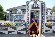 Esther Mahlangu | What's AfricArt / http://whatsafricart.altervista.org/esther-mahlangu-e-bmw/