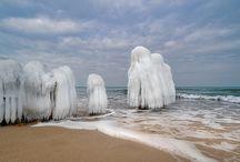 Winter an der Ostsee 2018 / Bilder über Kühlungsborn März 2018