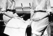 Gran Duquesa Olga y Gran Duquesa Tatiana