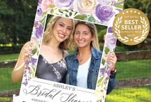 Spring Bridal Shower Ideas / Spring is here and the flowers are blooming. Get inspired with our lovely collection of Spring Bridal Shower ideas. Invitations, Signage, Photo Props, Games and more!