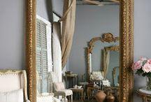 Espelhos e molduras