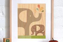 Kiddos // Nursery / by Raquel Mahoney